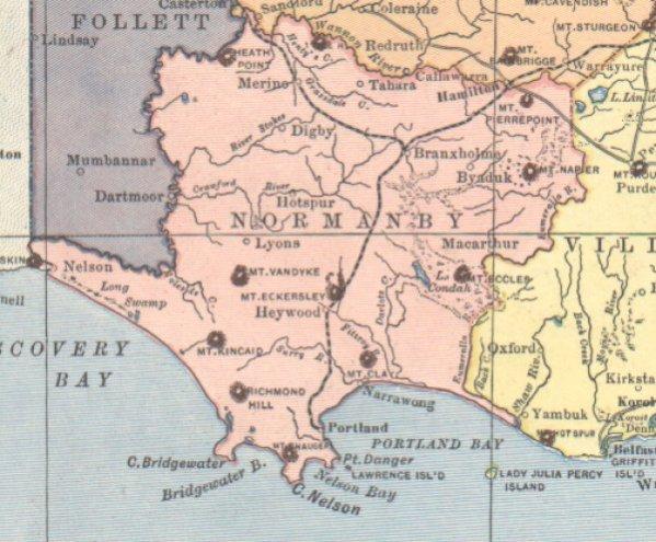 Hotspur map