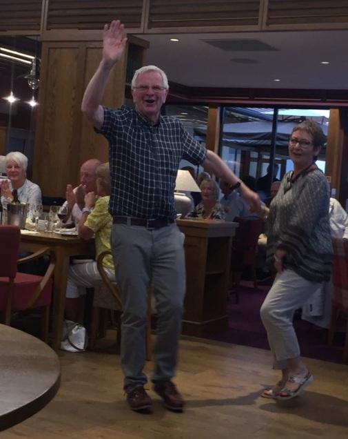 Malcolm dancing